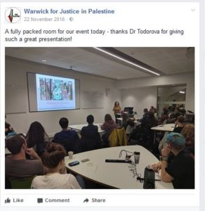 University of Warwick 'Palestine for Dummies'