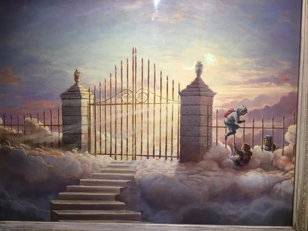 Banksy gates