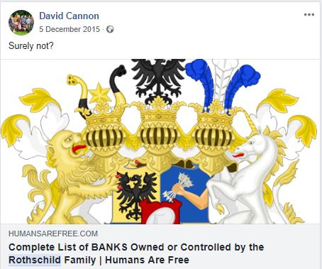 Rothschild conspiracy