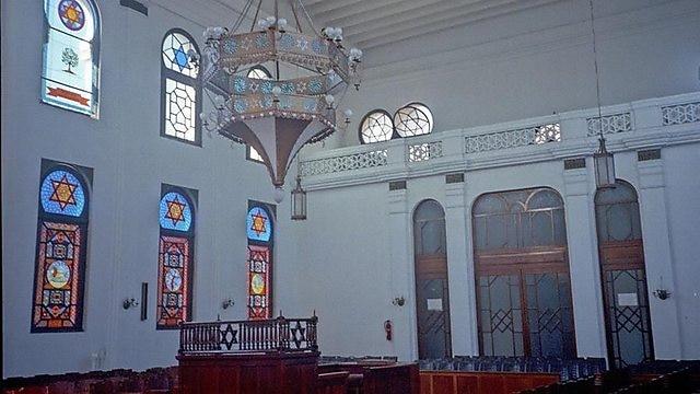 Sephardic synagogue                       in Guatemala City (Photo: Beit Hatfutsot)