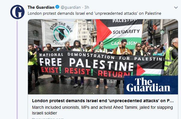 London Guardian report