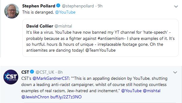 YouTube Marc Gardner Stephen Pollard