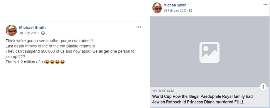 Michael Smith antisemitic