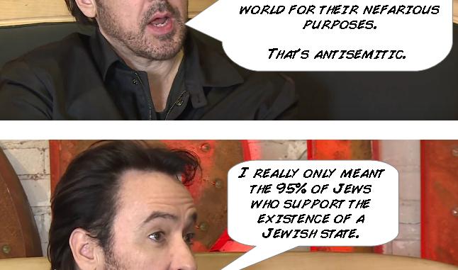 06/18 Links Pt2: John Cusack retweets anti-Semitic meme with