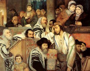 Maurycy_Gottlieb_-_Jews_Praying_in_the_Synagogue_on_Yom_Kippur-6770180ebe4ea080e3eab44f06cd5ee1fd4cf62d