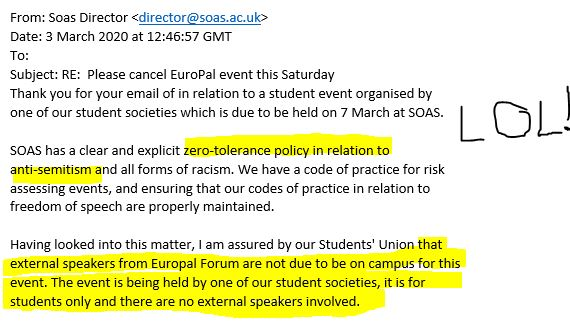 SOAS email