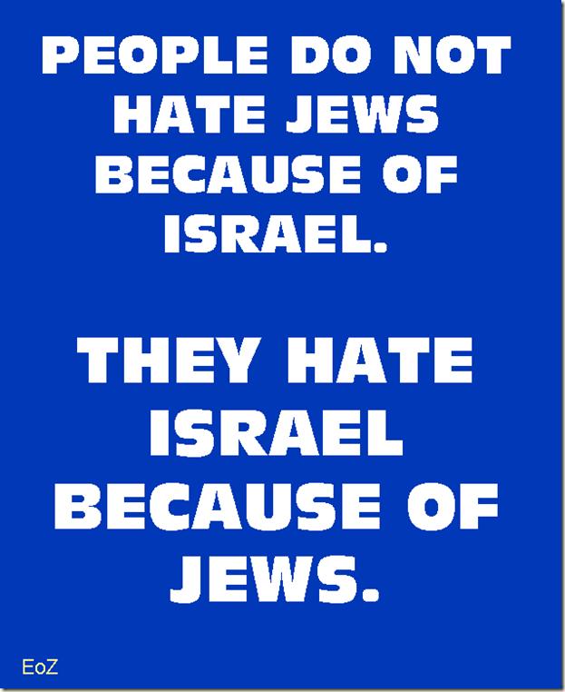 hate israel